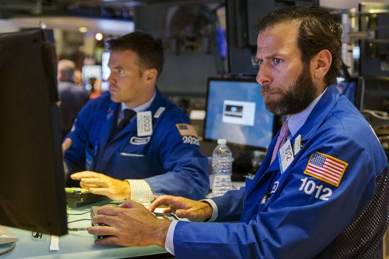 Wall St. up 1 percent as China fears ease