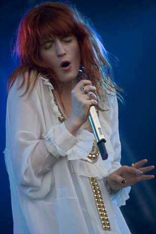 Florence Welch's frock didn't wow us.