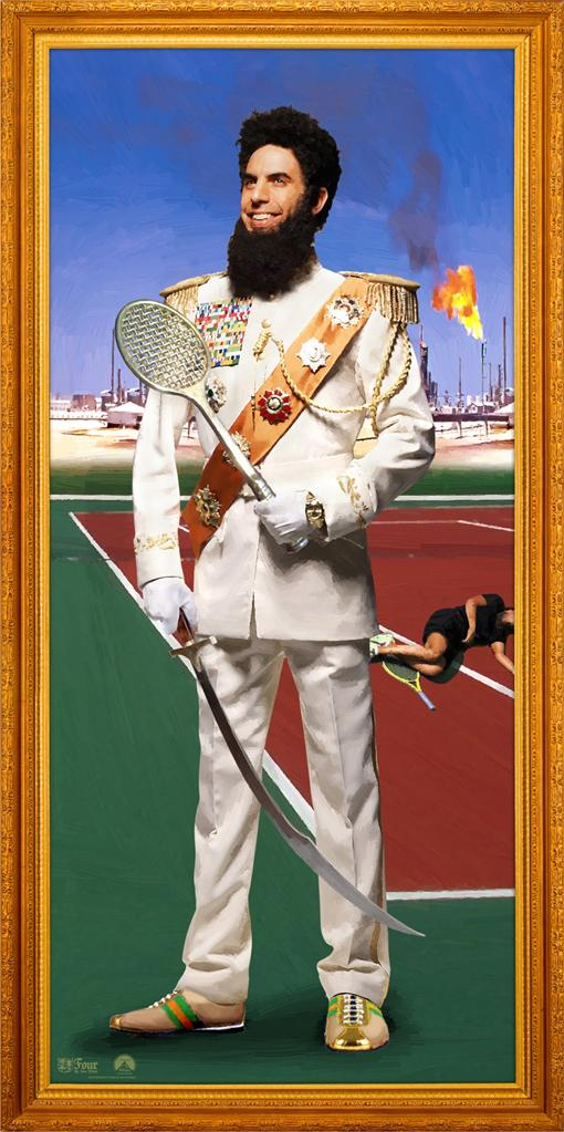 The Dictator Stills