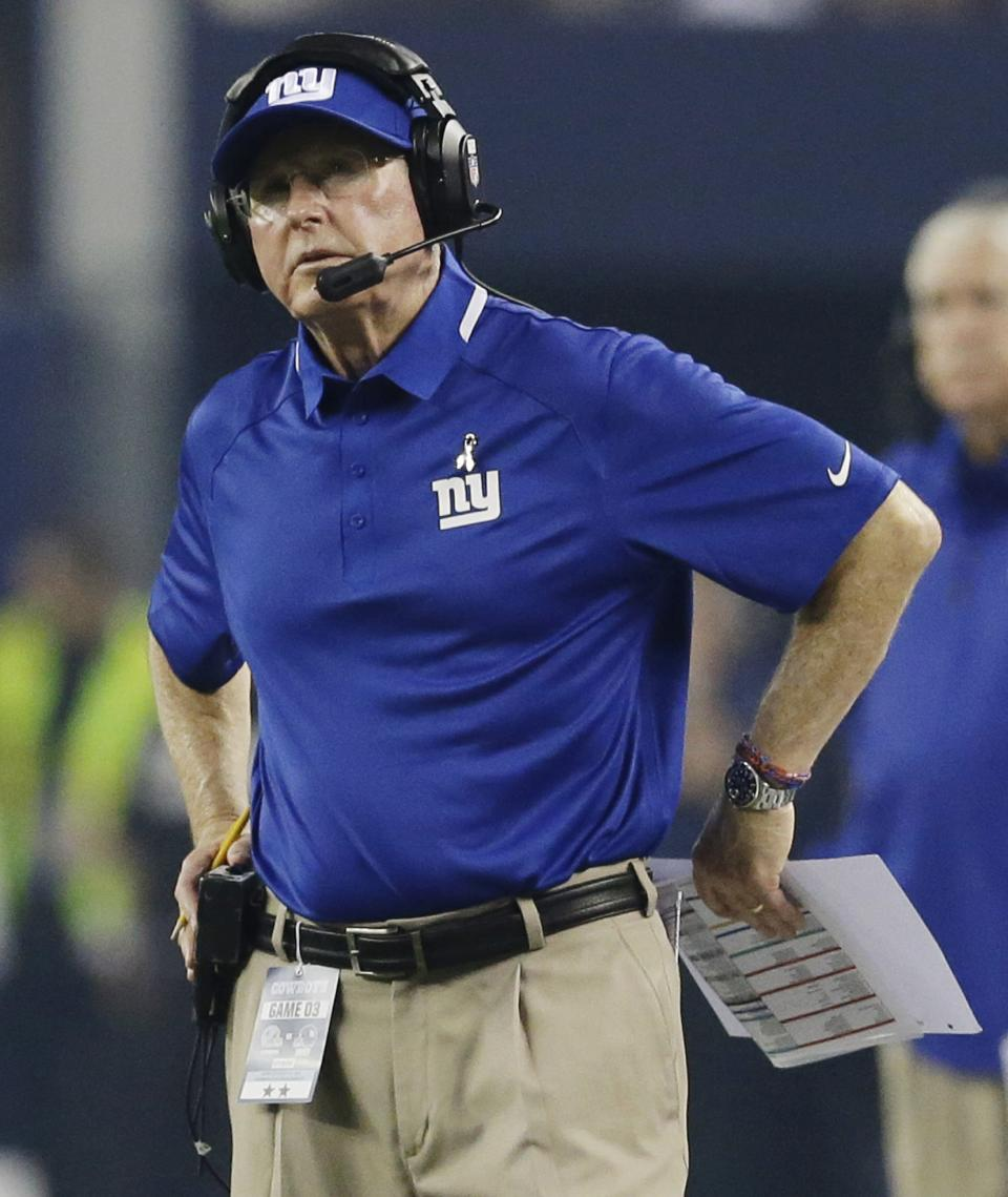 Giants deny Dallas claim they faked injuries