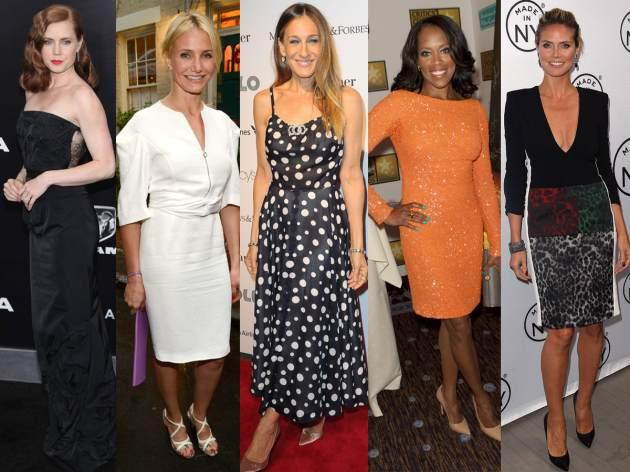 Amy Adams, Cameron Diaz, Sarah Jessica Parker, Regina King, Heidi Klum -- Getty Images
