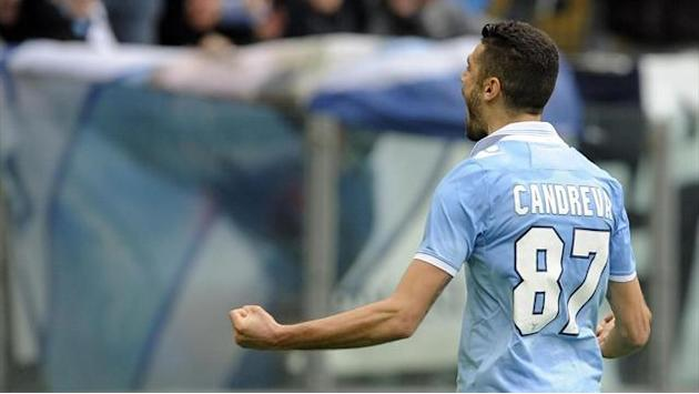 Italian Serie A - Lazio leapfrog Inter with win over Catania