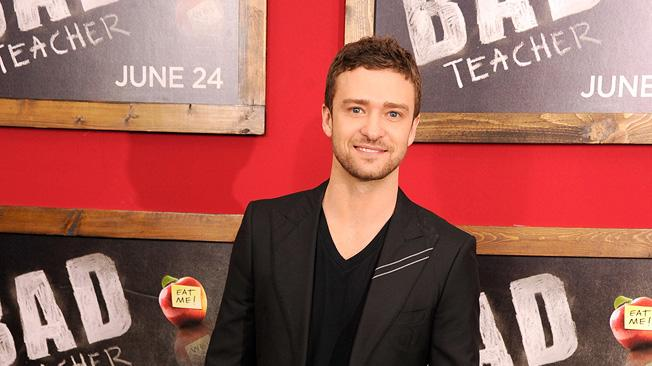 Bad Teacher NY Premiere 2011 Justin Timberlake
