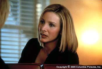 Lisa Kudrow portrays youngest sister Maddy, who after years of dabbling in several questionable professions ends up a lead character in a soap opera in the Columbia Pictures presentation, Hanging Up