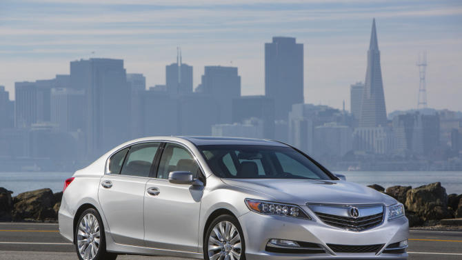 Acura RLX replaces RL flagship