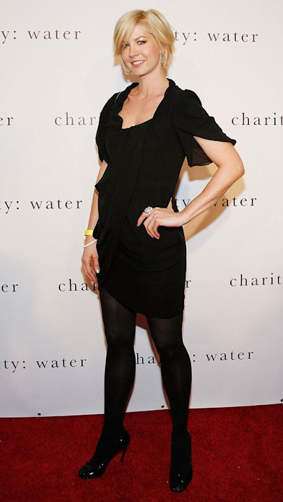 Jenna Elfman attends Charity: Ball 2008, a benefit for Charity: Water highlighting the global need for clean and safe drinking water at Metropolitan Pavilion on December 15, 2008 in New York City.