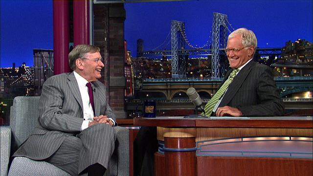 David Letterman - Bud Selig on A-Rod