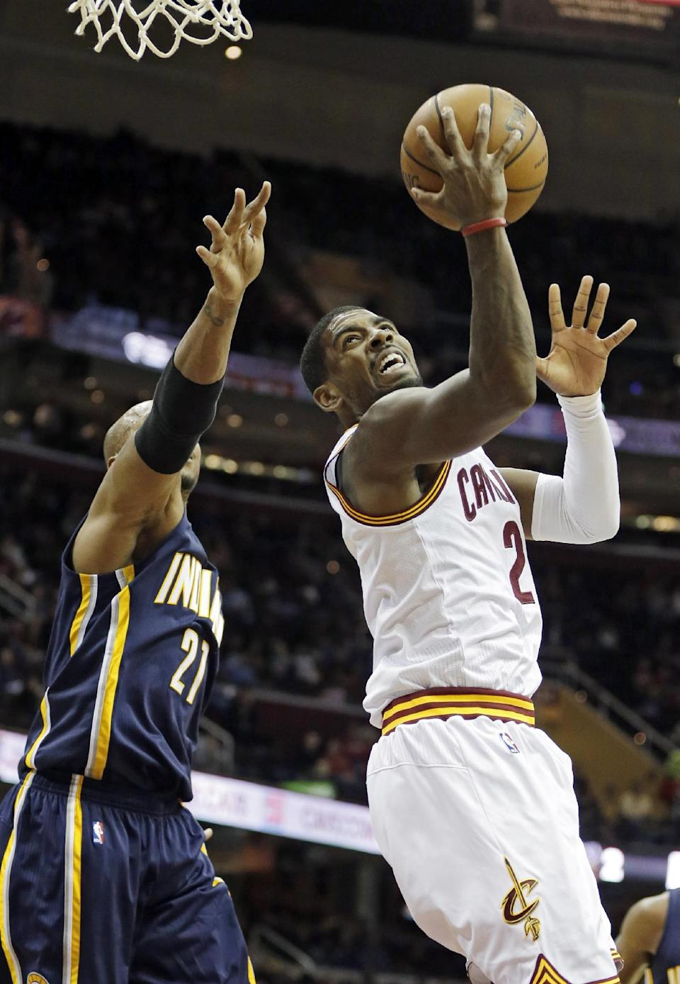 Pacers beat Cavs for first preseason win