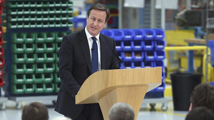 UK's Cameron rejects call for new economic policy