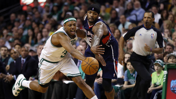 NBA: Atlanta Hawks at Boston Celtics