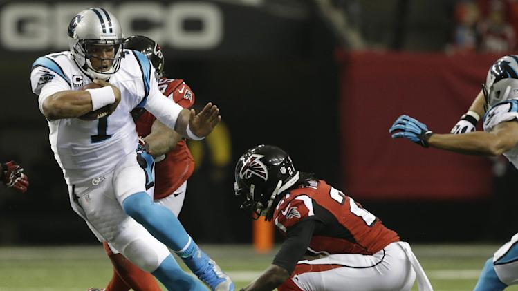 Panthers QB Newton seeks chemistry with new WRs