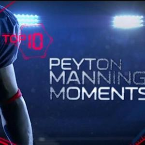 Top 10 moments of Peyton Manning's NFL career