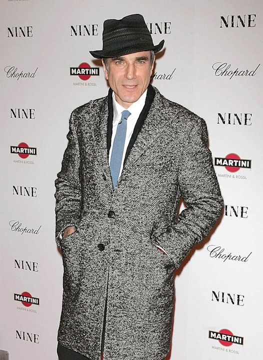 Daniel Day Lewis NINE Premiere