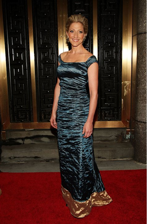 Edie Falco attends the 63rd Annual Tony Awards at Radio City Music Hall on June 7, 2009 in New York City.