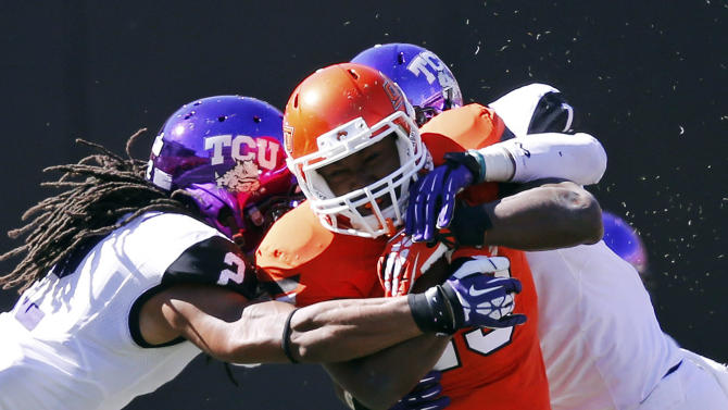RB questions crop up for No. 19 Oklahoma State