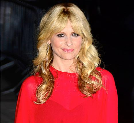 Sarah Michelle Gellar Shows Off New Bangs