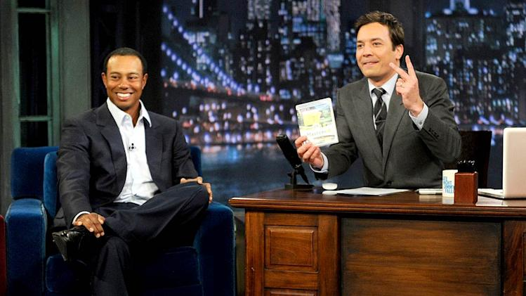 Woods Fallon Jimmy Fallon Show