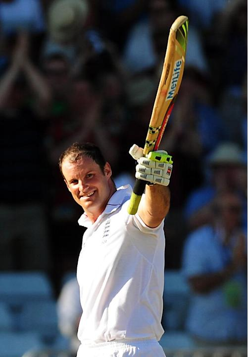 Cricket - Andrew Strauss Filer