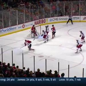 Sergei Bobrovsky Save on Marian Hossa (03:38/3rd)