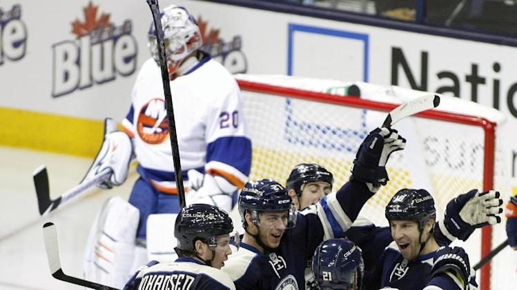 Blue Jackets beat Islanders 5-2 to end 5-game skid
