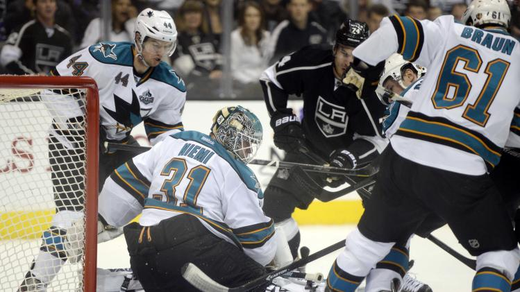 NHL: San Jose Sharks at Los Angeles Kings