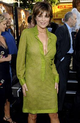 Lisa Rinna at the Hollywood premiere of Warner Bros. Pictures' Batman Begins