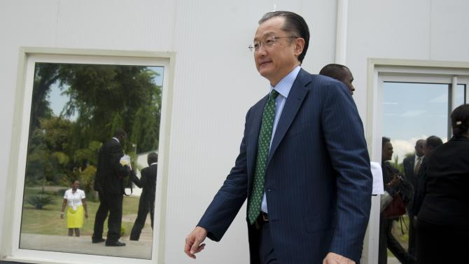 World Bank head holds out hope for Haiti