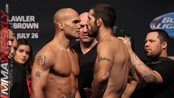 UFC on FOX 12 Fighter Bonuses: As Expected, Robbie Lawler and Matt Brown Stole the Show