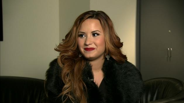 Demi Lovato speaks with Access Hollywood, New York, March 6, 2012 -- Access Hollywood