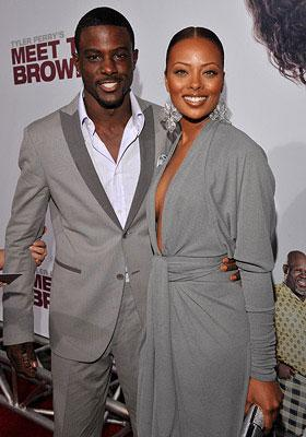 Lance Gross and Eva Pigford at the Los Angeles premiere of Lionsgate Films' Tyler Perry's Meet the Browns