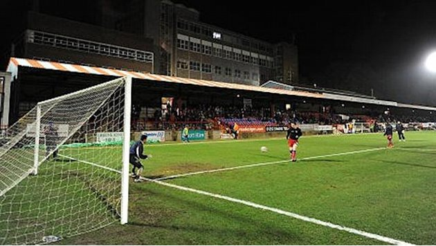 League Two - Aldershot placed in administration