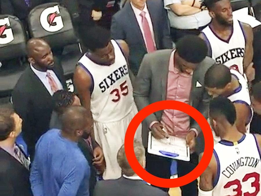 The Sixers let their players coach and the Heat benched their starters in a game both teams wanted to lose