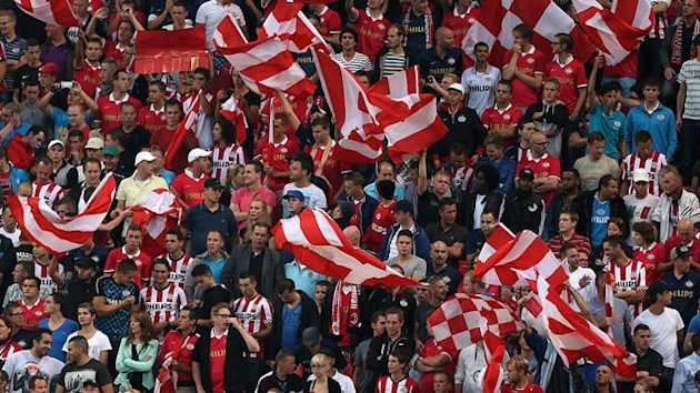 PSV fans, generic (PA Photos)