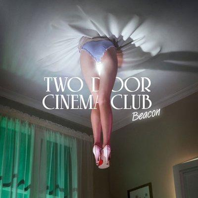 1. Two Door Cinema Club, Beacon - This looks like an attempt to pull off the kind of photorealistic but surreal imagery the Hipgnosis designers specialized in with Pink Floyd covers. Or maybe in Ireland they just use artificial bums as ceiling fans.