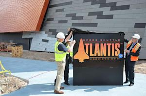 'Space Shuttle Atlantis' Exhibit Gets Logo, Opening Date
