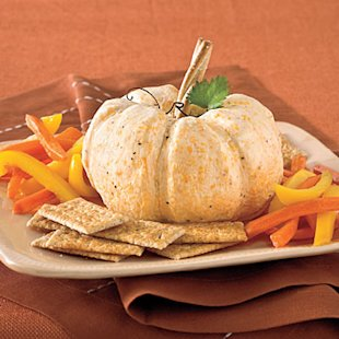 Great White Pumpkin Cheese Ball