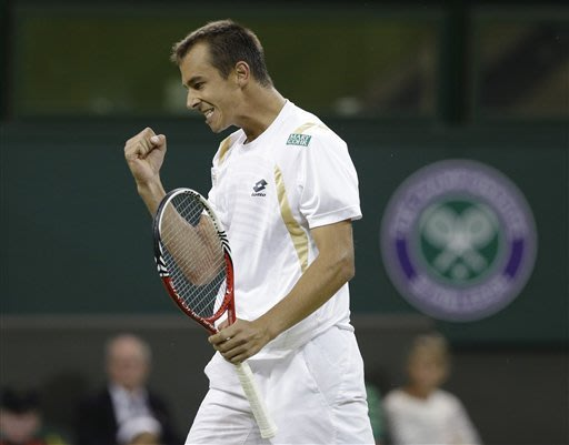 Rosol stuns crowd by beating Nadal at Wimbledon