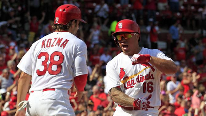 Holliday, Wong lead Cardinals past Pirates, 5-4