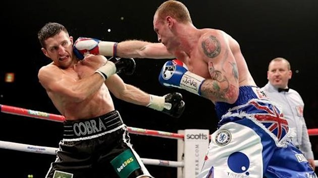 Groves Froch Getty