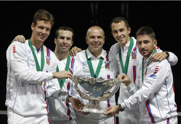 Serbia v Czech Republic - Davis Cup World Group Final: Day Three