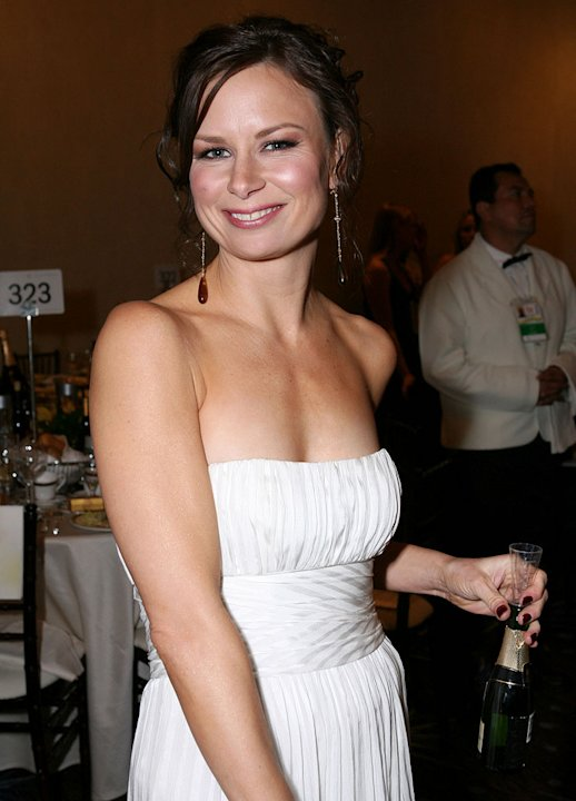 Mary Lynn Rajskub at the 64th Annual Golden Globe Awards Moet & Chandon Inside Ballroom.