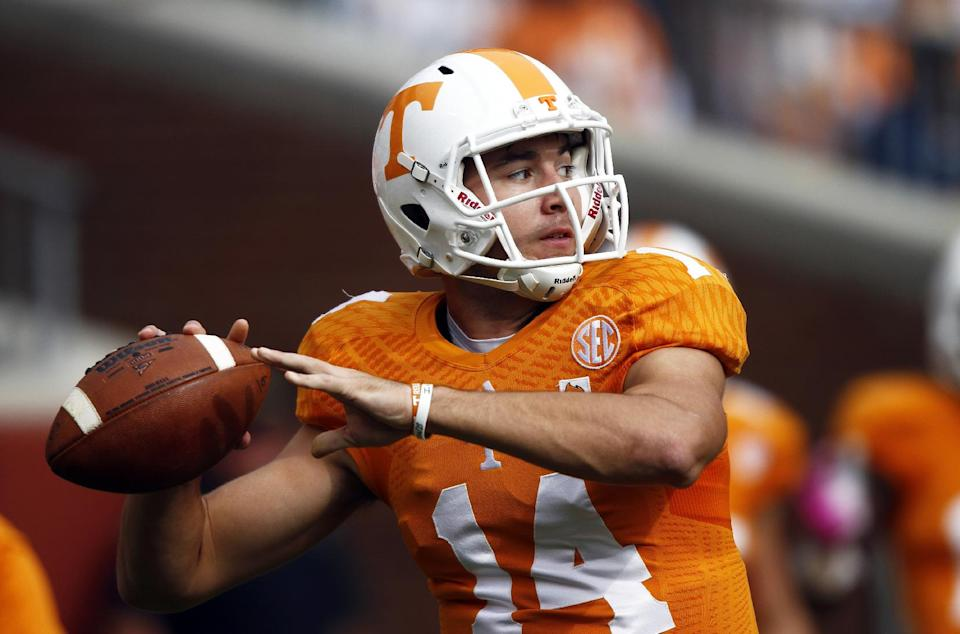 Vols could face 7 ranked foes in 8-game stretch