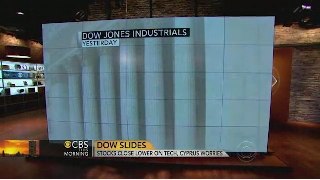 Stocks close lower due to …