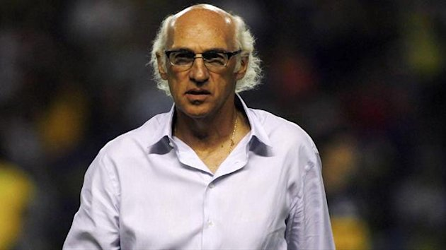 Carlos Bianchi, head coach of Argentina's Boca Juniors (Reuters)