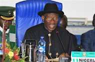 Nigeria's President Goodluck Jonathan attends the 43rd Economic Community of West African States (ECOWAS) meeting in Abuja July 17, 2013. REUTERS/Afolabi Sotunde
