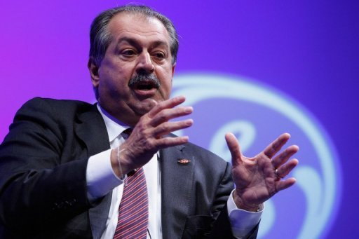 &lt;p&gt;Dow Chemical Company Chairman, President and CEO Andrew Liveris participates in a discussion on &quot;The Future of Manufacturing: Growing American Competitiveness&quot; in Washington, DC, in February 2012. Dow Chemical said it planned to cut five percent of its global workforce, or 2,400 people, and shut 20 plants in an effort to slash costs as the global economy slows.&lt;/p&gt;