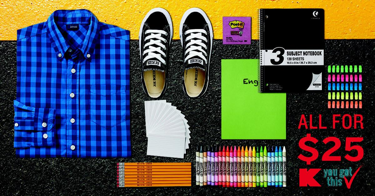 Shop Back to School Apparel at Kmart®