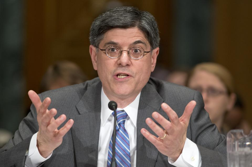 Lew signals support for tax code rewrite