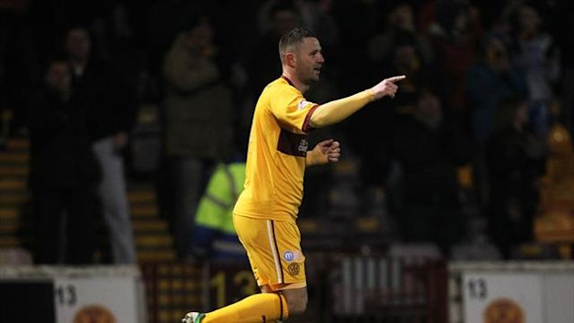 Michael Higdon has scored 19 goals for Motherwell this season