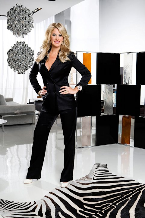 "Kim Zolciak of ""The Real Housewives of Atlanta."""